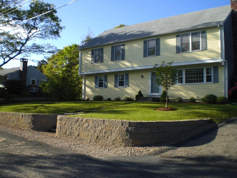 Cape Cod landscape construction contractor