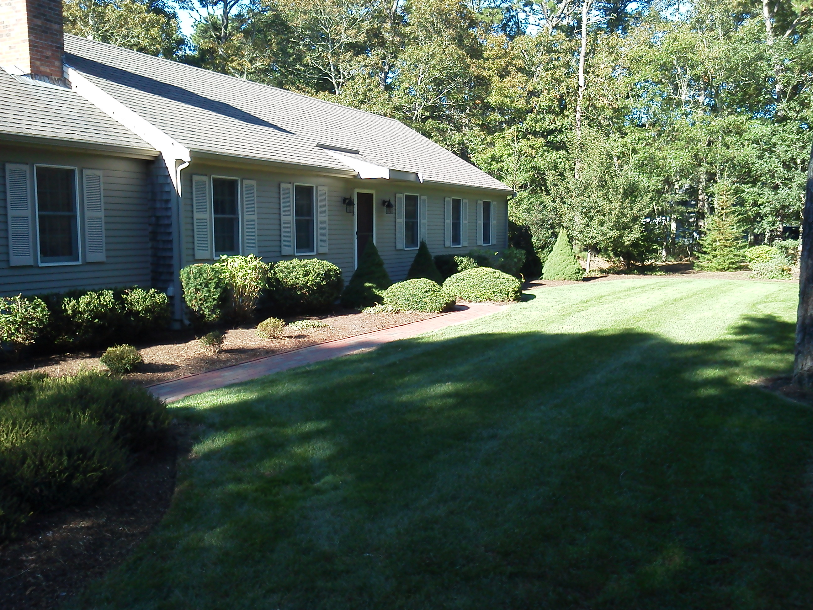 regular lawn care services Osterville Barnstable Harwich MA