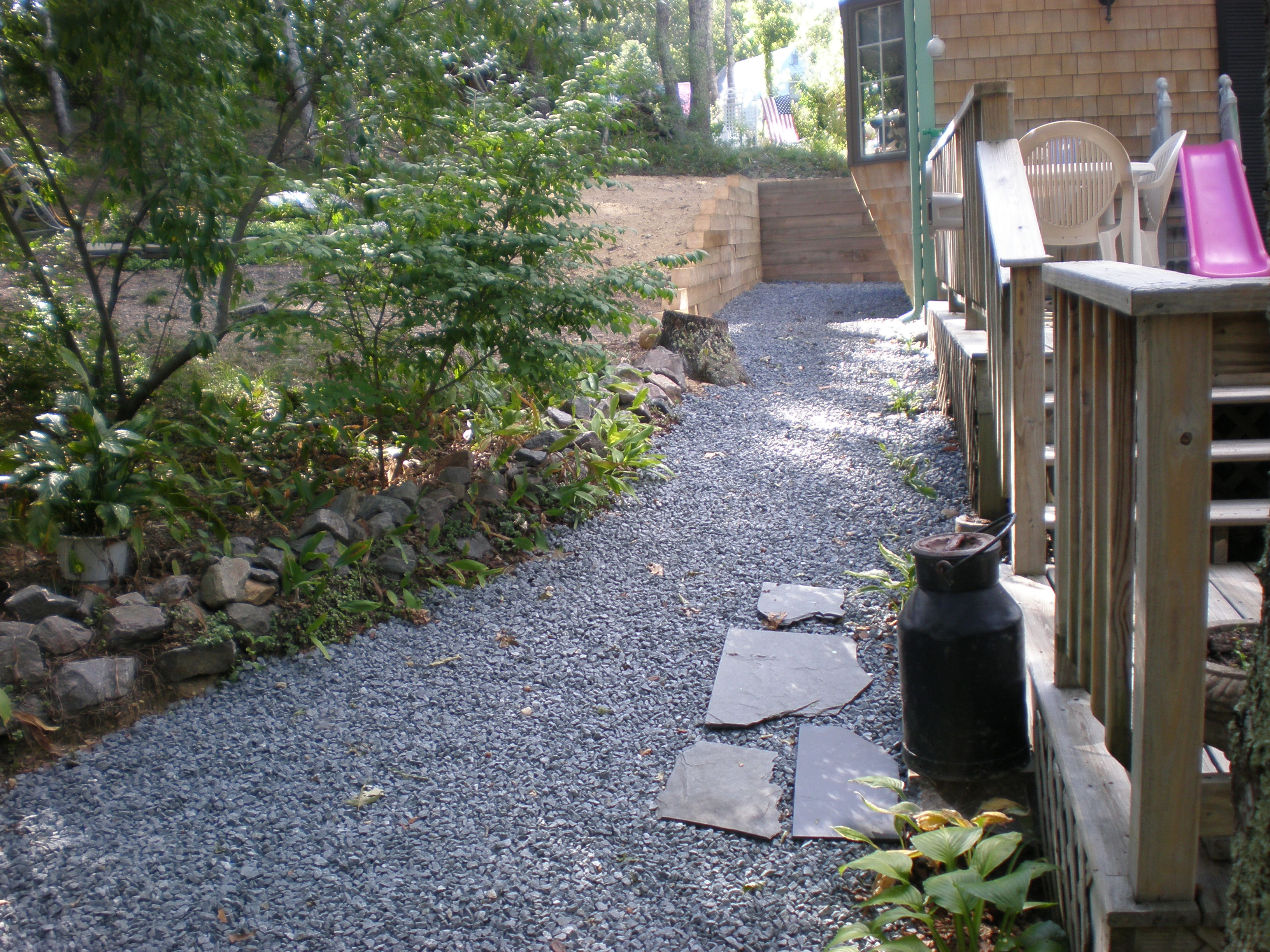 cape cod retaining wall landscaping contractor